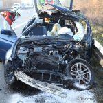 Schwerer Verkehrsunfall bei Ansbach – 2 Folgeunfälle auf Gegenspur